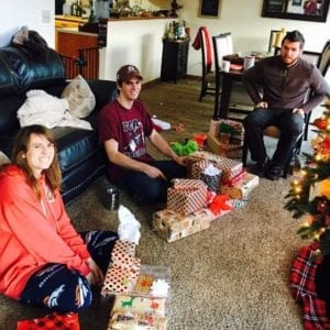 Christmas morning!