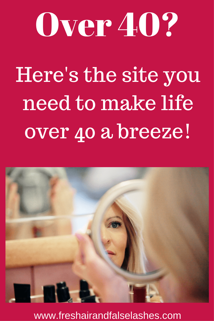 The site that's dishing all the dirt on Life Over 40!