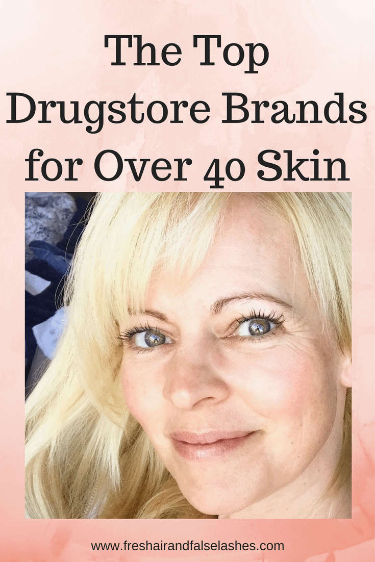 The Top Drugstore Brands for Over 40 Skincare