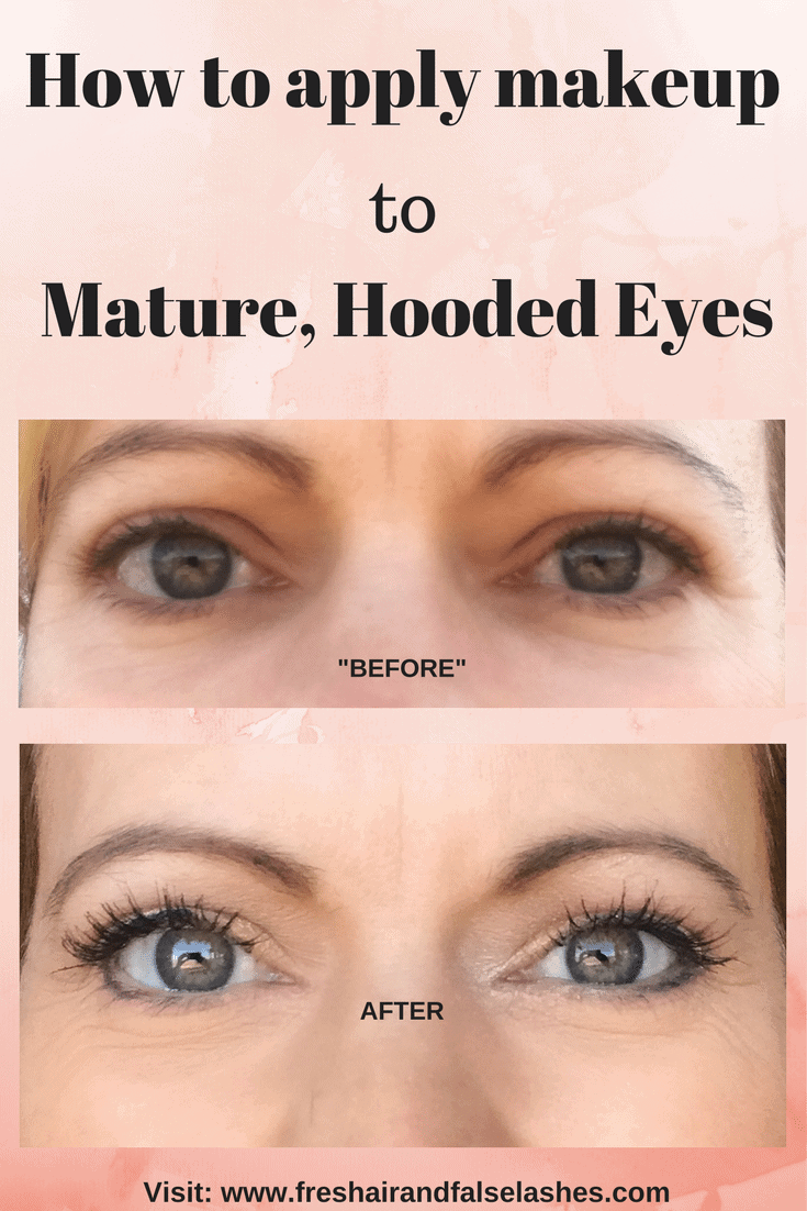 How To Wear Makeup With Hooded Eyelids