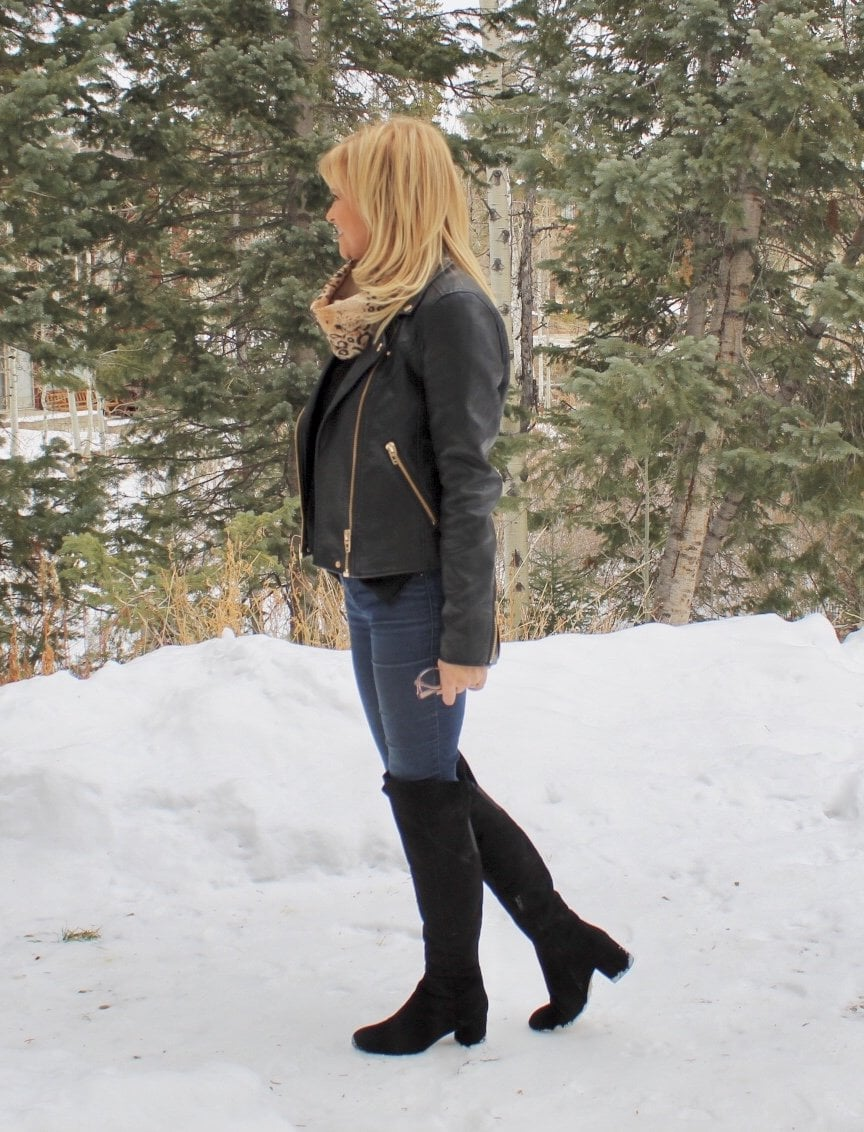 Over the knee boots over 40? Yes you can!