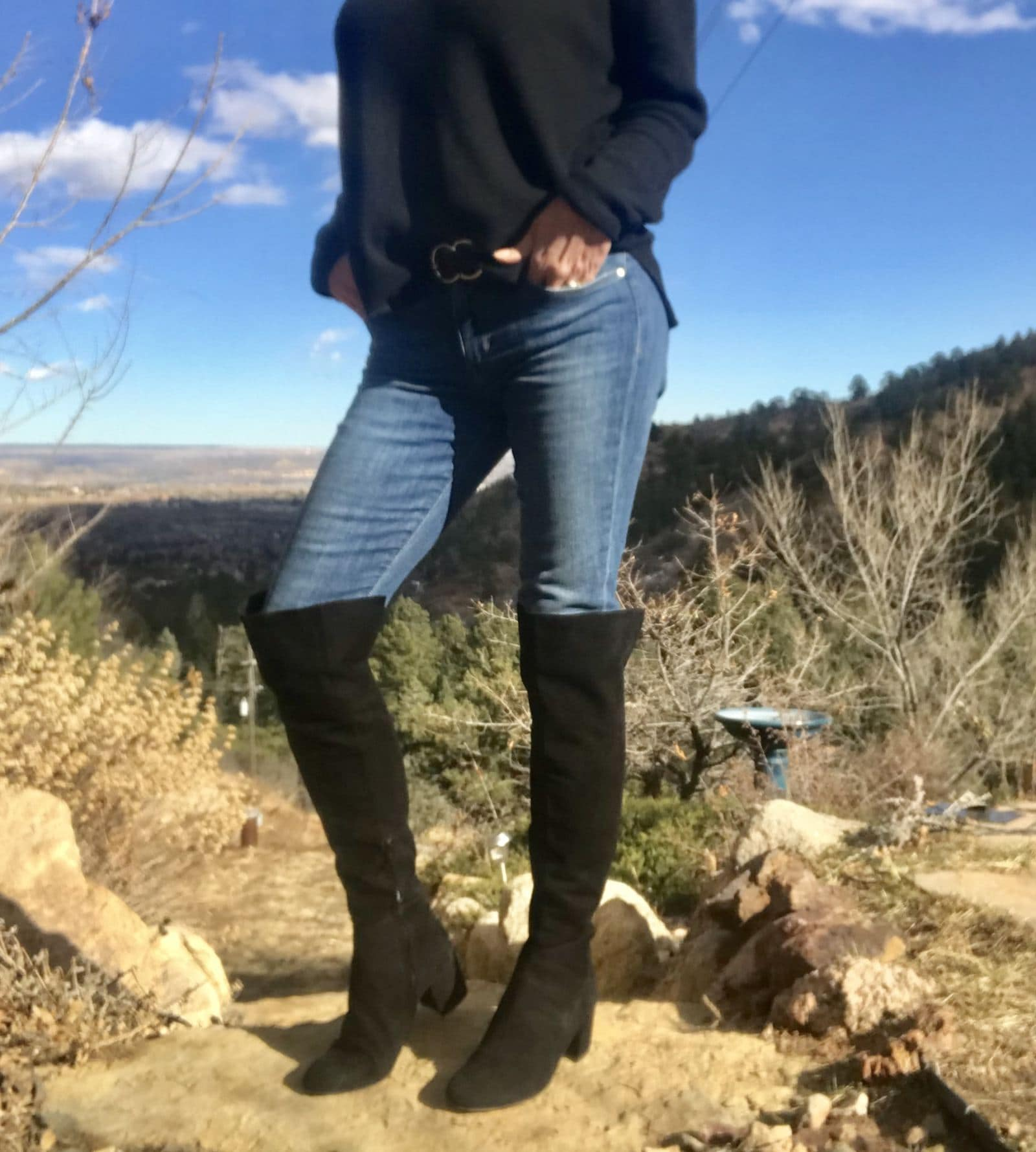 over the knee boots over 40