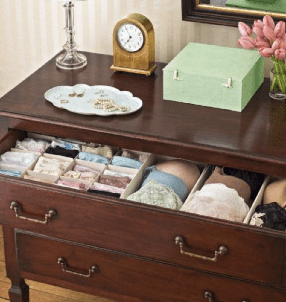 Organizing Your Underwear Drawer