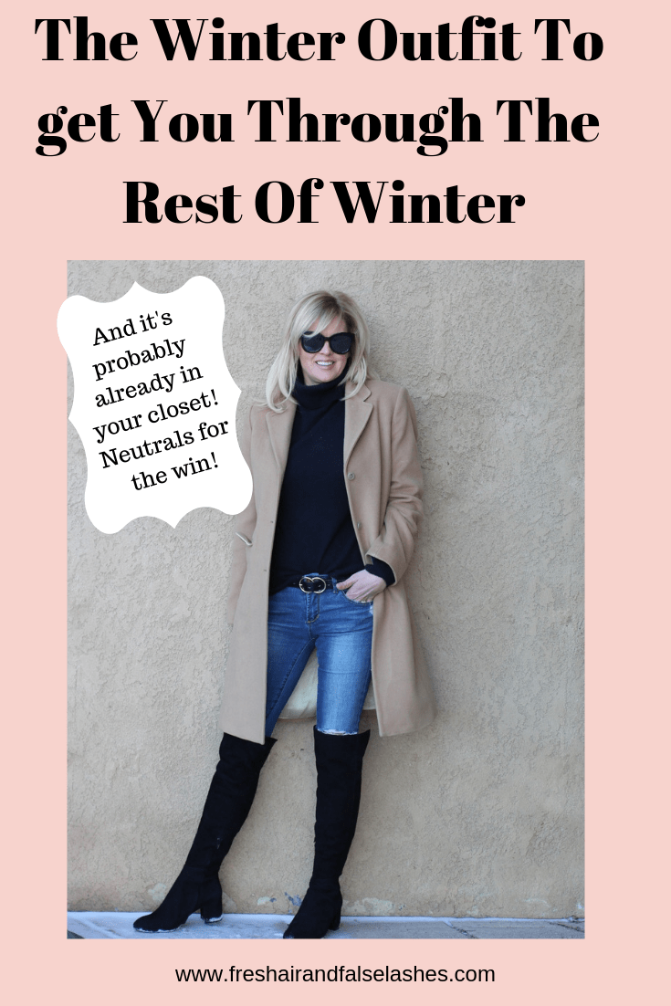 Getting through the rest of winter like a boss.....a chic, warm, stylish boss!