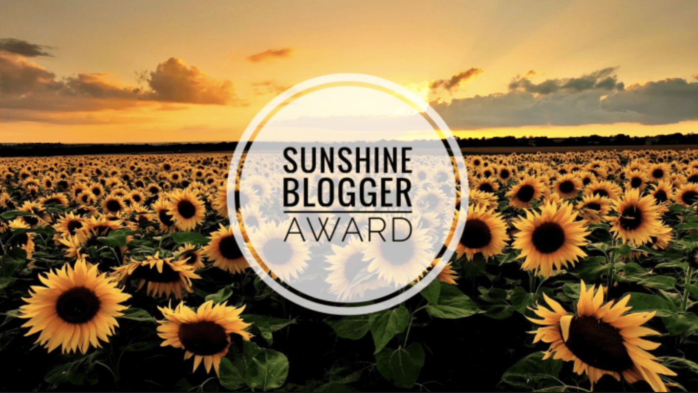 Sunshine Blogger Award for Fresh Air and False Lashes