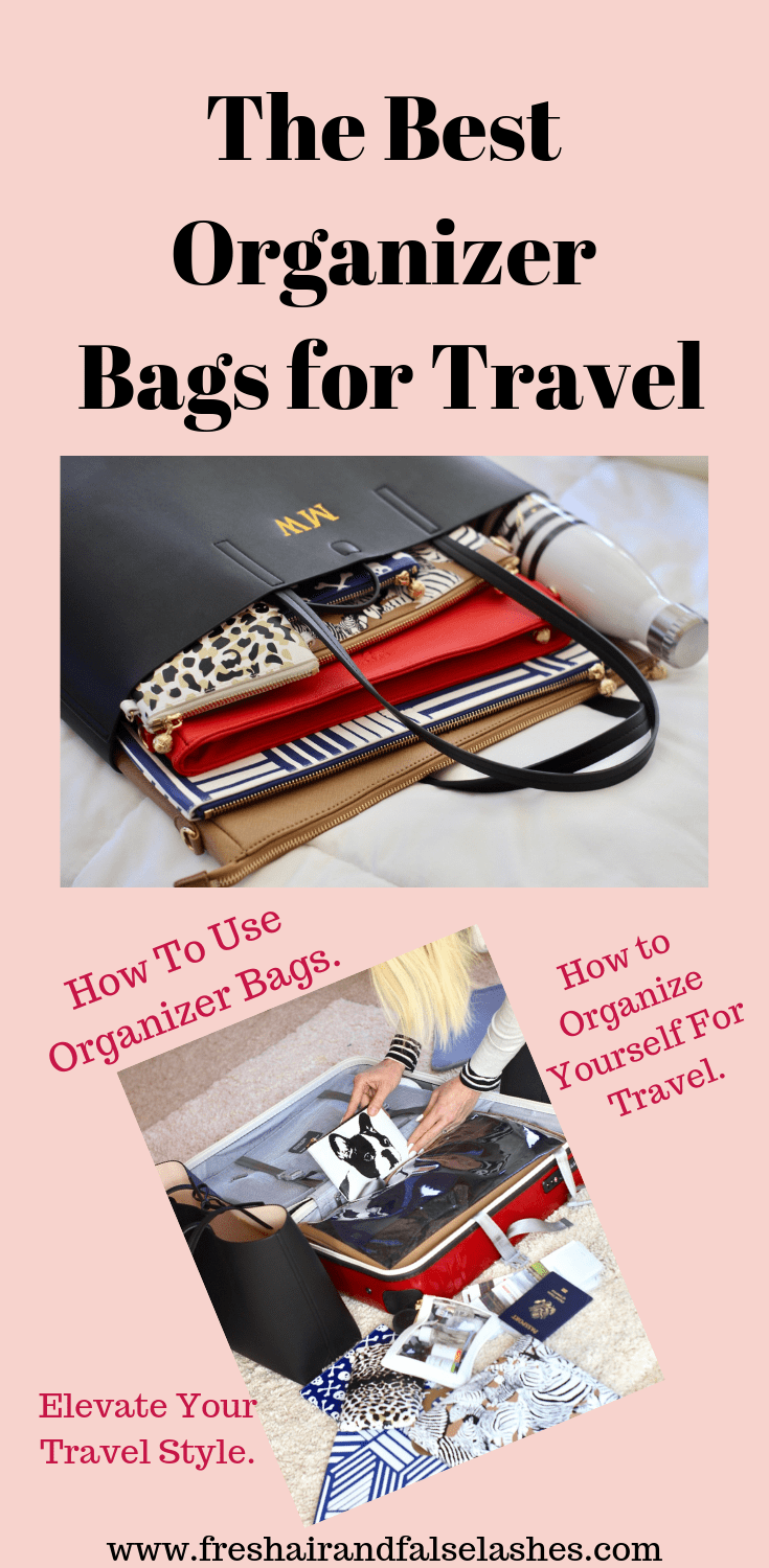 Organizer Bags. The very best organizer bags for travel!