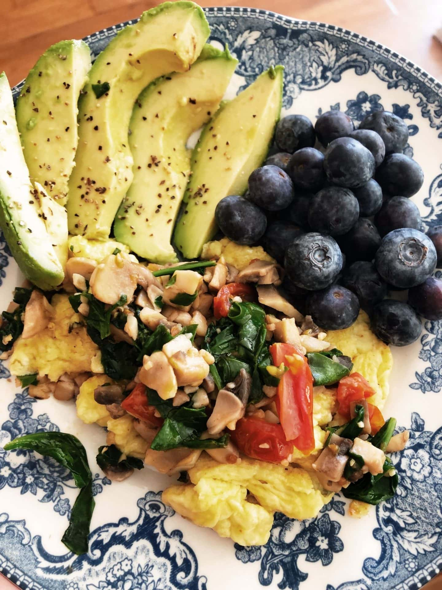 What I eat in a day over 50