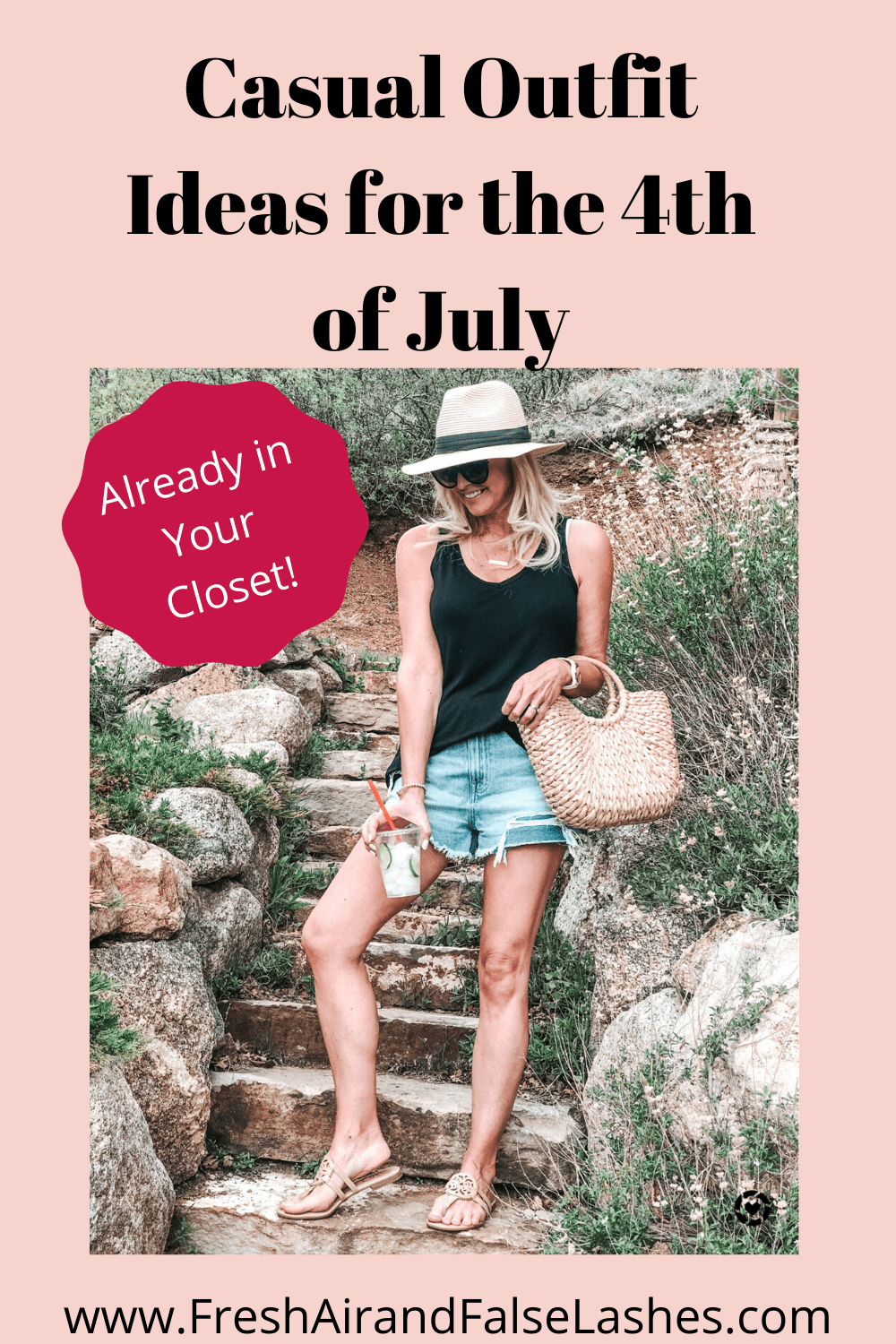 Outfit ideas for the 4th of July.
