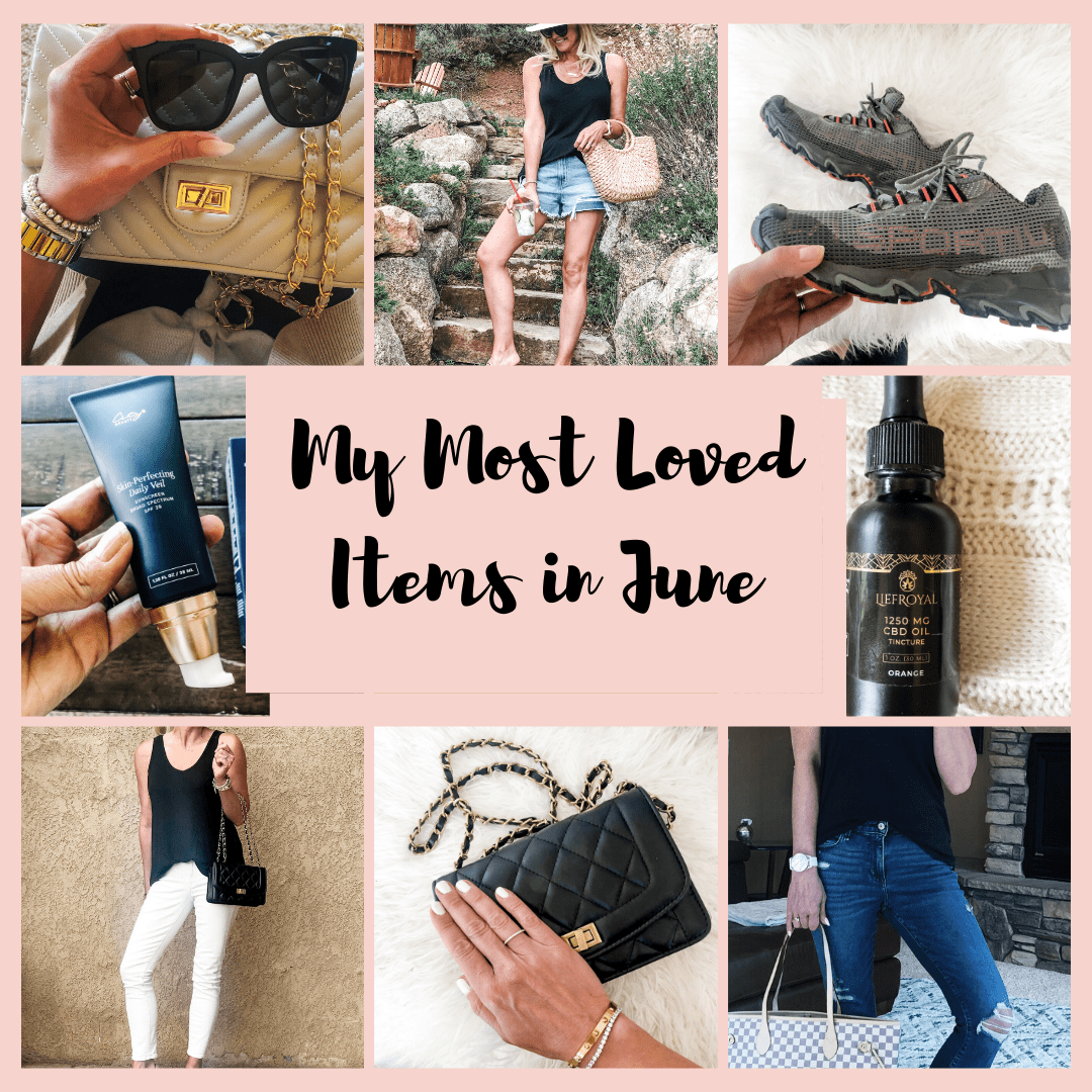 My Most Loved Items in June.