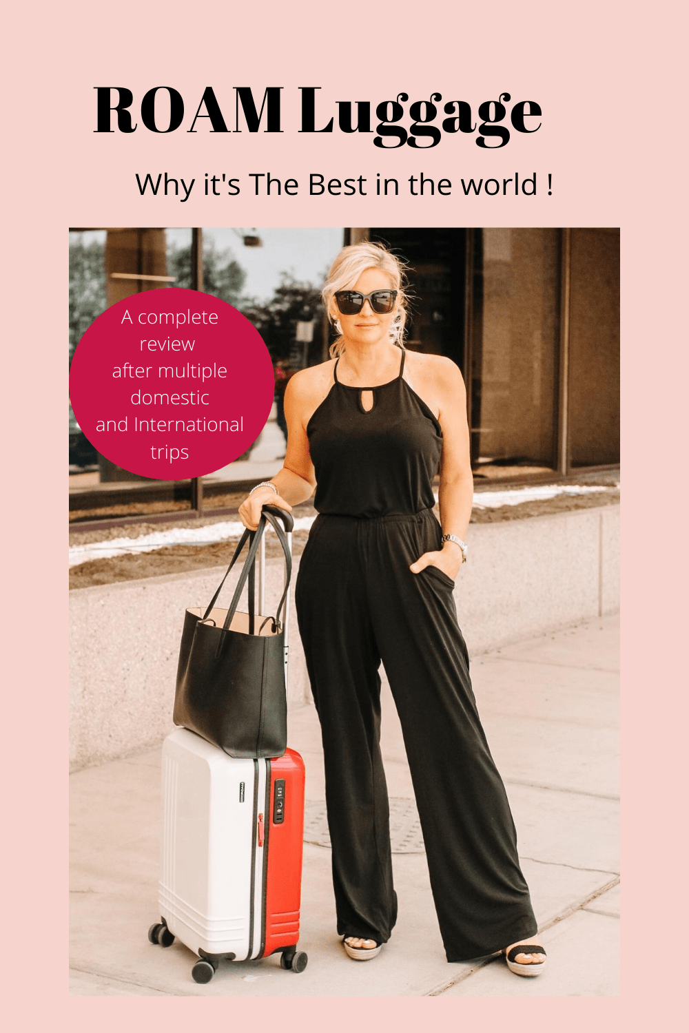 ROAM luggage. An honest review after multiple domestic and International trips. Everything you need to know.