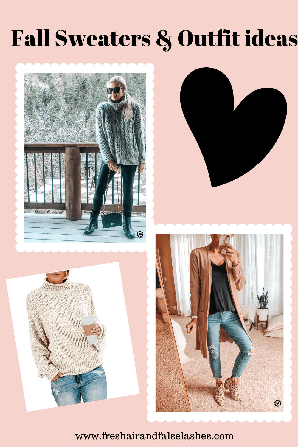Sweater Outfit ideas. fall sweaters.
