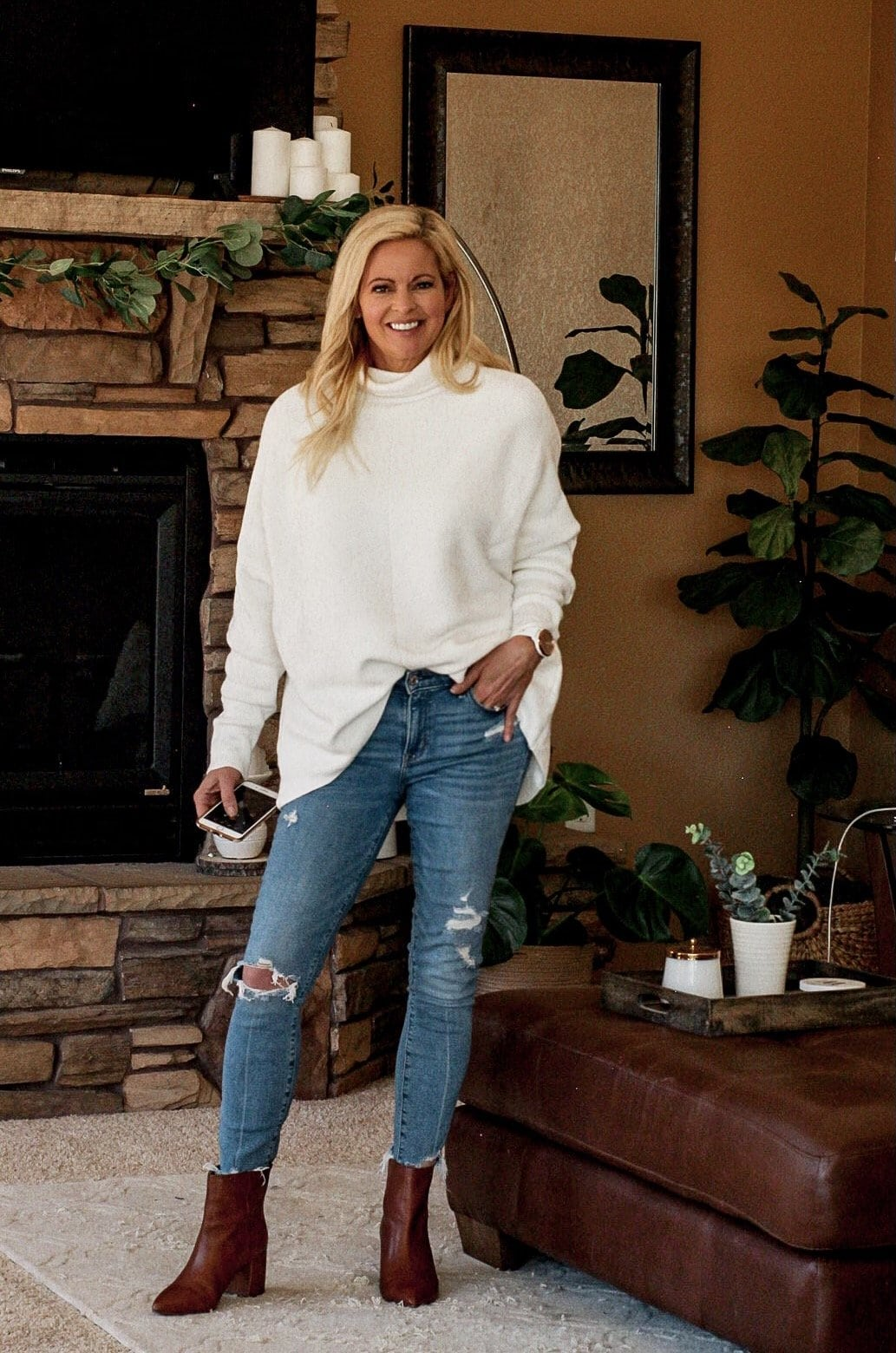 The Free People Sweater dupe and loads of outfit ideas to wear this unicorn of sweaters.