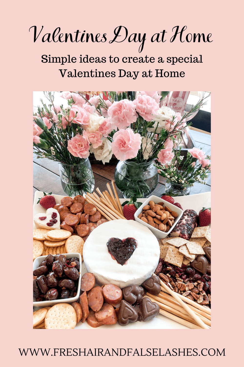 Valentines Day at home. Simple ideas to create a special day.