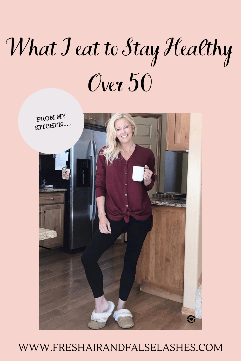 What Im eating to stay healthy over 50